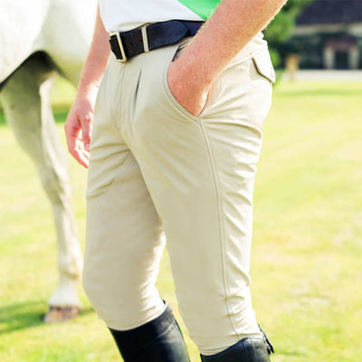 B Vertigo Sander Pleated Full Seat Mens Breeches