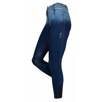 FairPlay Sarah Ladies Denim Breeches with Full Seat