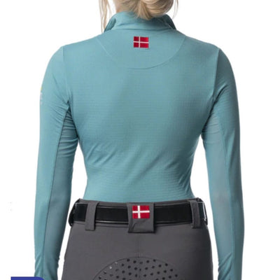 Kastel Denmark Charlotte Long Sleeve SPF Shirt Sea Blue/Asphalt