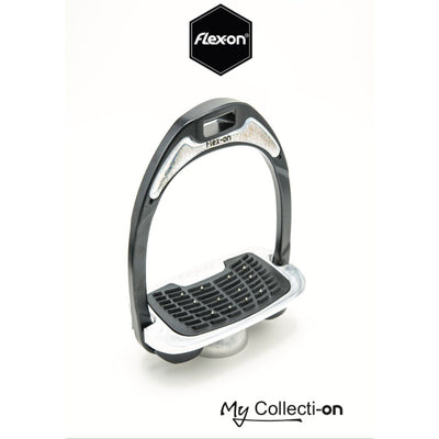 Flex-On Interchangeable Stirrup Magnet - For GC and Aluminium Stirrups SILVER GLITTER