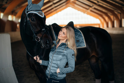 Equestrian Stockholm Active Performance Jacket STEEL BLUE