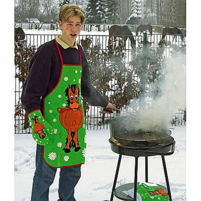 Horse Print BBQ/Cooking Set