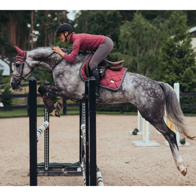 Equestrian Stockholm JUMP/AP Saddle Pad Winter Rose