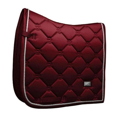 Dressage Saddle Pad Equestrian Stockholm Bordeaux