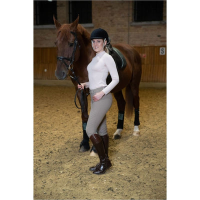Cavalliera Bellissima Long Sleeved Riding Top BLUSH