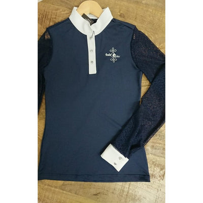 FairPlay Cecile Long Sleeve Shirt NAVY