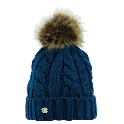Beanie Equi-Theme Cable Knit