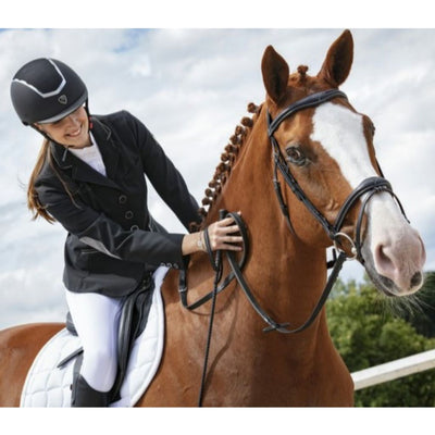 Equi Theme Mesh Insert Helmet with Adjustable Lining