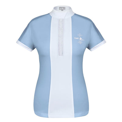 FairPlay Claire Pearl Competition Shirt LIGHT BLUE