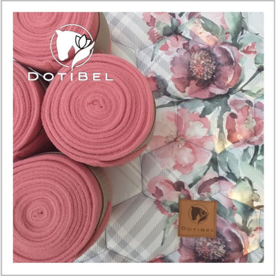 Dotibel Fleece Bandages PINK