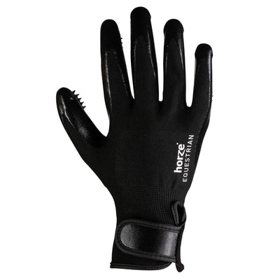Horze Grooming Gloves Pair with Massage Nodules