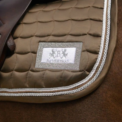 B Vertigo Vermont All Purpose Saddle Pad OLD GOLD
