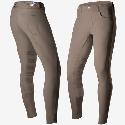 Horze Jackson Mens Silicone Knee Breeches