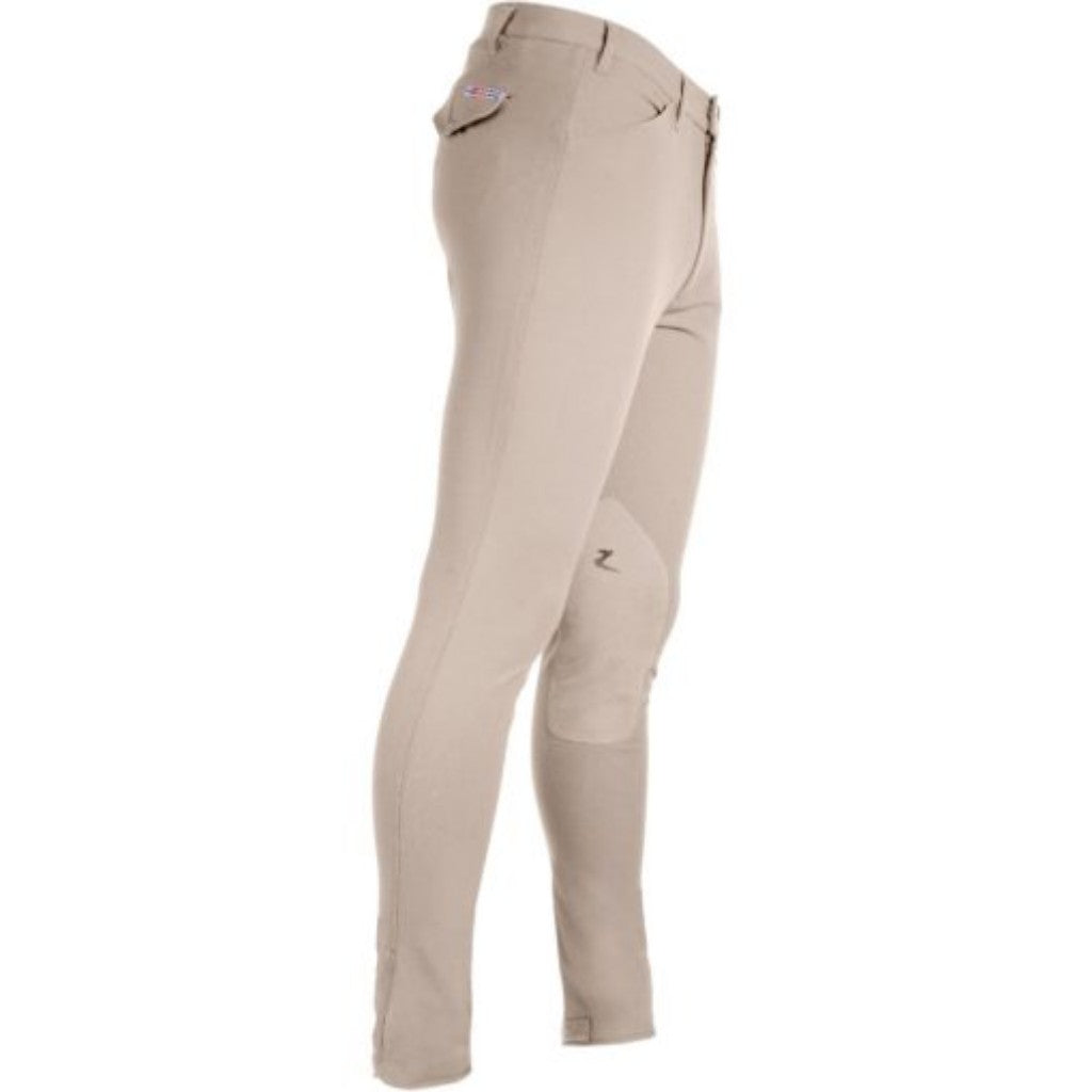 Horze Grand Prix Knee Patch Mens Breeches | High quality at affordable price