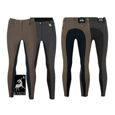 Kyron Soft Grip Silicone Full Seat Breeches