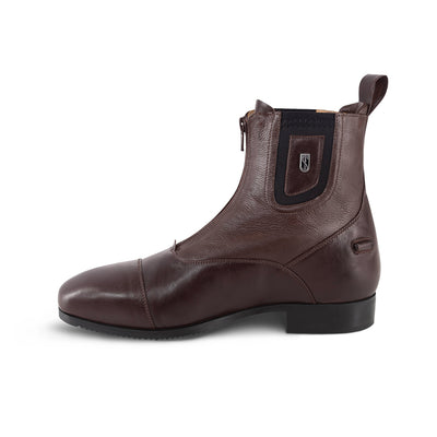 Tredstep Medici Front Zip Leather Ankle Boots
