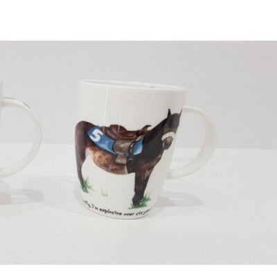Mug Anna Danielle Bone China Mug Explosive Over 6 Yards