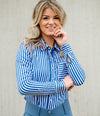 PS Of Sweden Cassidy Magic Shirt BLUE STRIPE
