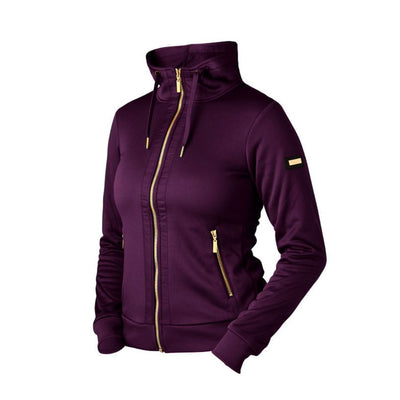 Equestrian Stockholm Training Jacket PURPLE GOLD