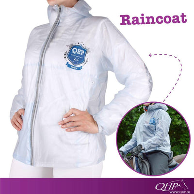 QHP Transparent Kids Raincoat