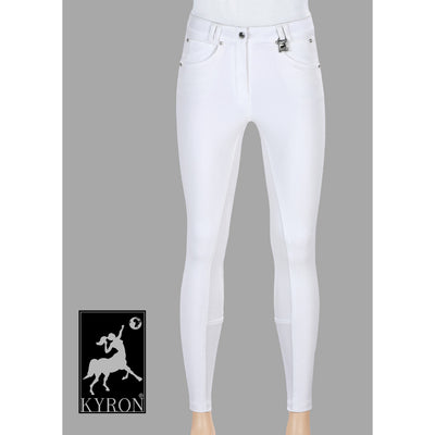 Kyron Soft Grip Silicone Full Seat Kids Breeches