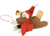 Christmas Horse Hanging Soft Toy /Ornament