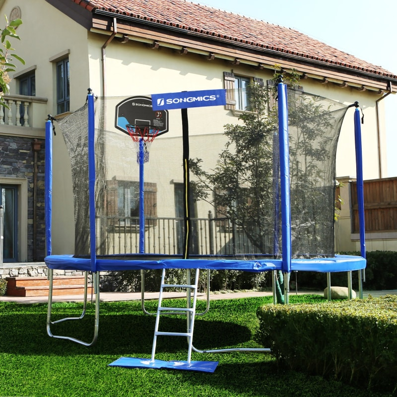 15 Foot Trampoline With Net - dilutee.com