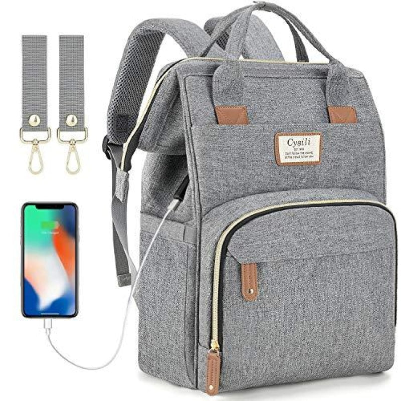 Backpack With A Charger