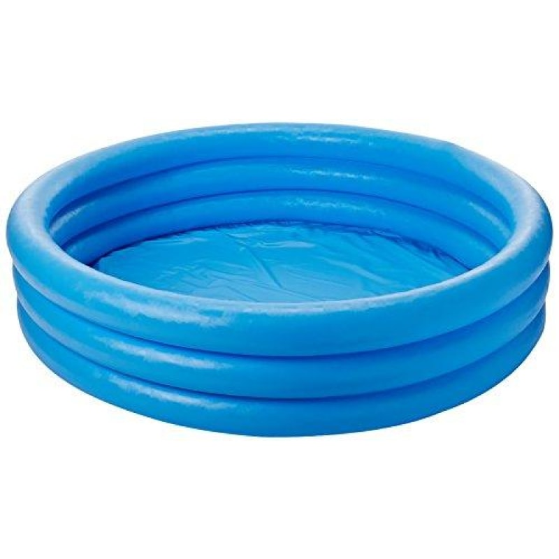 Blue Inflatable Pool For Kids