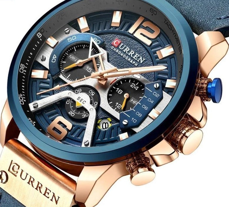 Brand New CURREN Luxury Men's Watch - dilutee.com