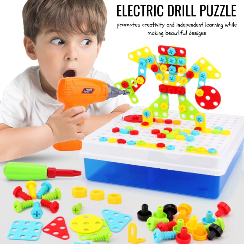 BuzzDrill Puzzle - Educational Toy