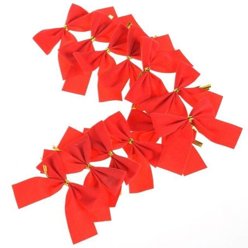 Christmas Ribbon Decorations - dilutee.com