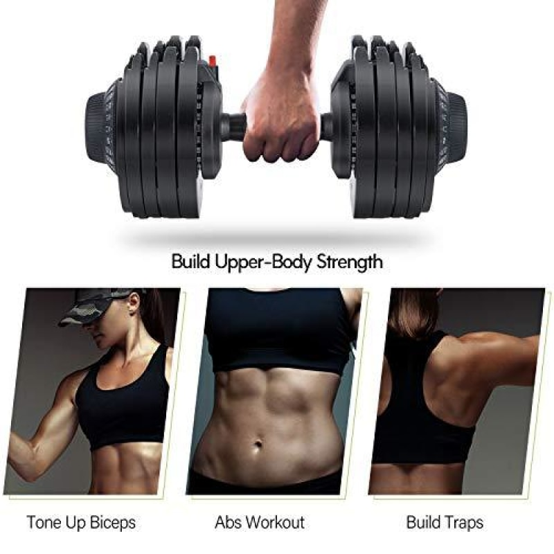 Core Fitness Adjustable Dumbbells - dilutee.com
