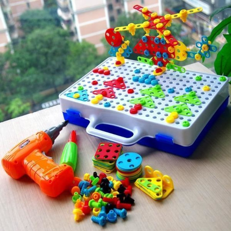 Design and Drill Creative Toy Kit - dilutee.com