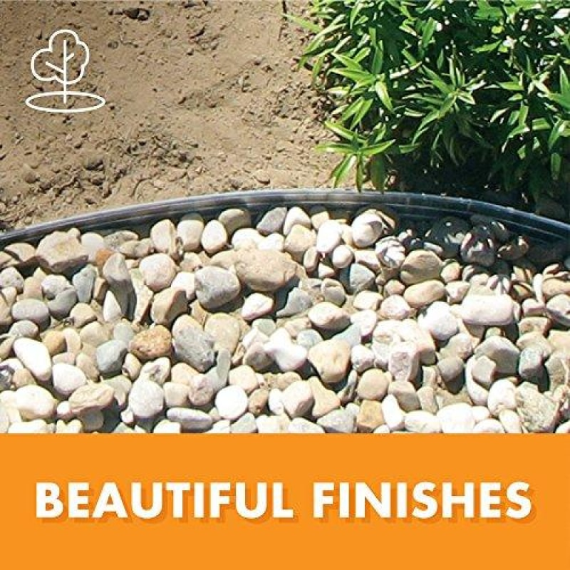 Dimex EasyFlex Aluminum Landscape Edging Project Kit Will Not Rust Like Steel Silver (1806ML-24C) - dilutee.com