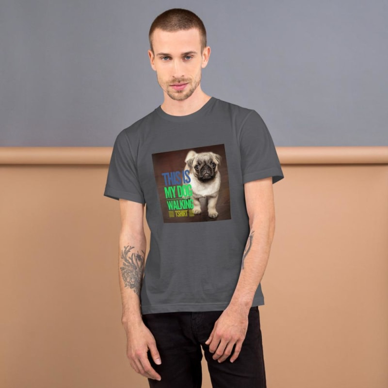 Dog Walking T-Shirt - dilutee.com