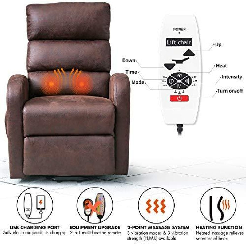 Electric Lift Chair Recliner - dilutee.com