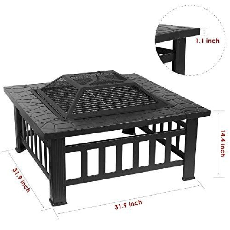 Fire Pit Table Outdoor - dilutee.com