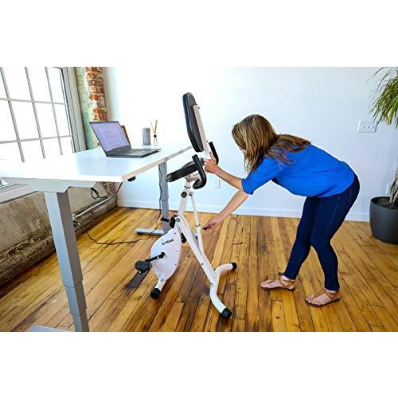 FitDesk Standing Adjustable Desk Bike for Exercising for Home Use or Office - dilutee.com