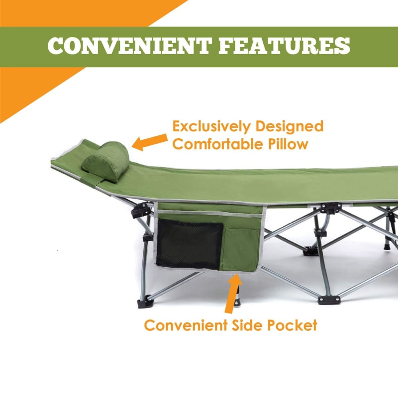 Folding Cot for Camping - dilutee.com