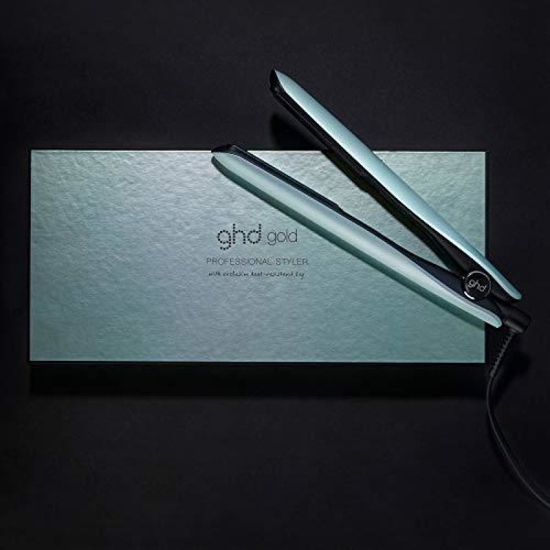ghd Gold Hair Styler Flat Iron Hair Straightener Upbeat Collection Neon Mint Styler 1 ct. - dilutee.com