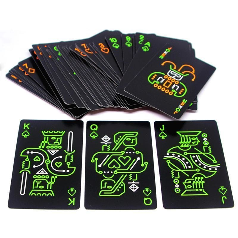 Glow In The Dark Playing Cards - dilutee.com