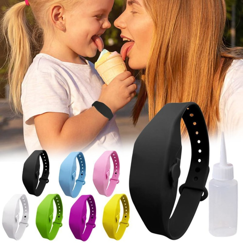 Hand Sanitizer Dispenser Bracelet