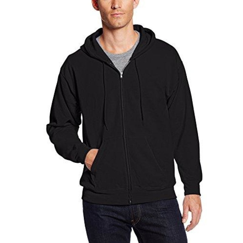 Hanes Men's Full Zip EcoSmart Fleece Hoodie