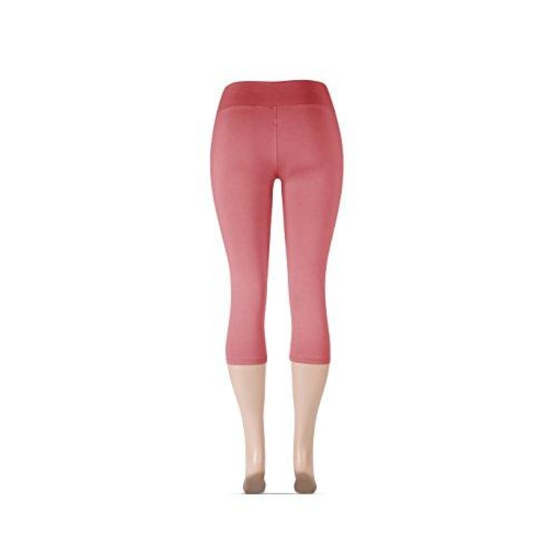 High Waisted Super Soft Capri Leggings - dilutee.com