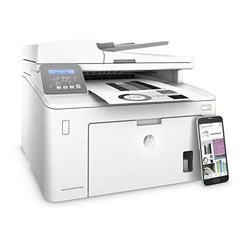 HP Laserjet Pro M148dw All-in-One Wireless Monochrome Laser Printer Amazon Dash Replenishment Ready with Mobile & Auto Two-Sided Printing