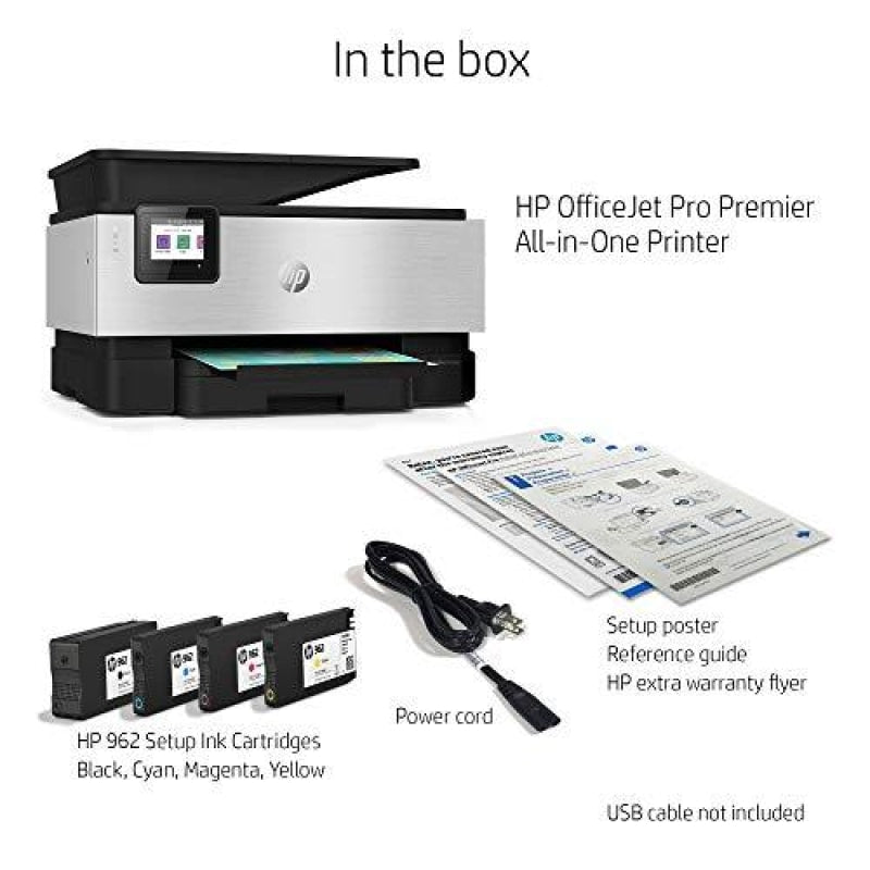HP OfficeJet Pro Premier All-in-One Wireless Printer - Includes 2 Years of Ink Delivered To Your Door Plus Smart Tasks for Smart Office