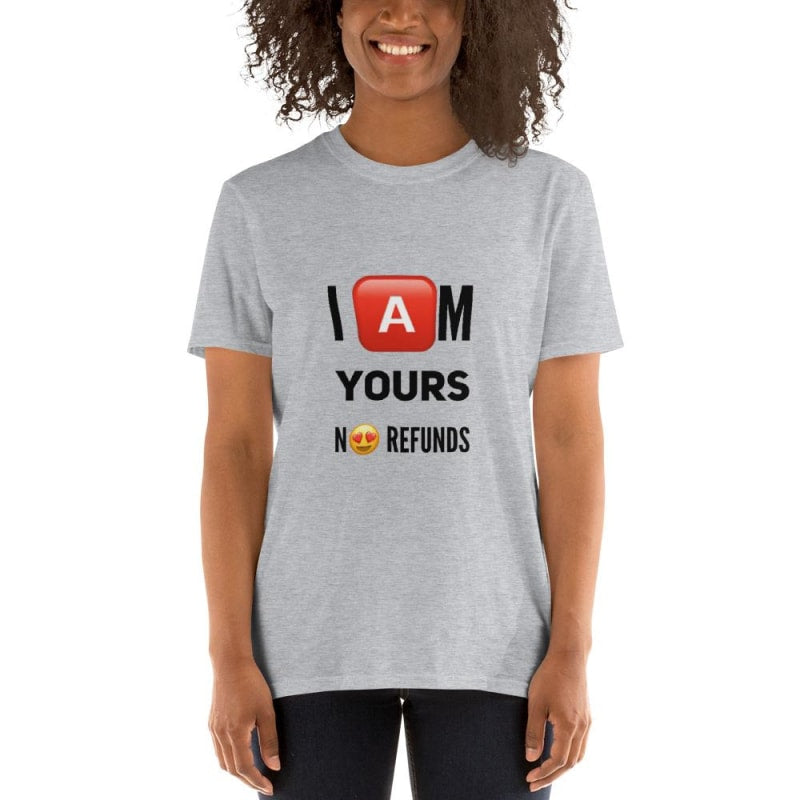 I am Yours T-Shirt - dilutee.com