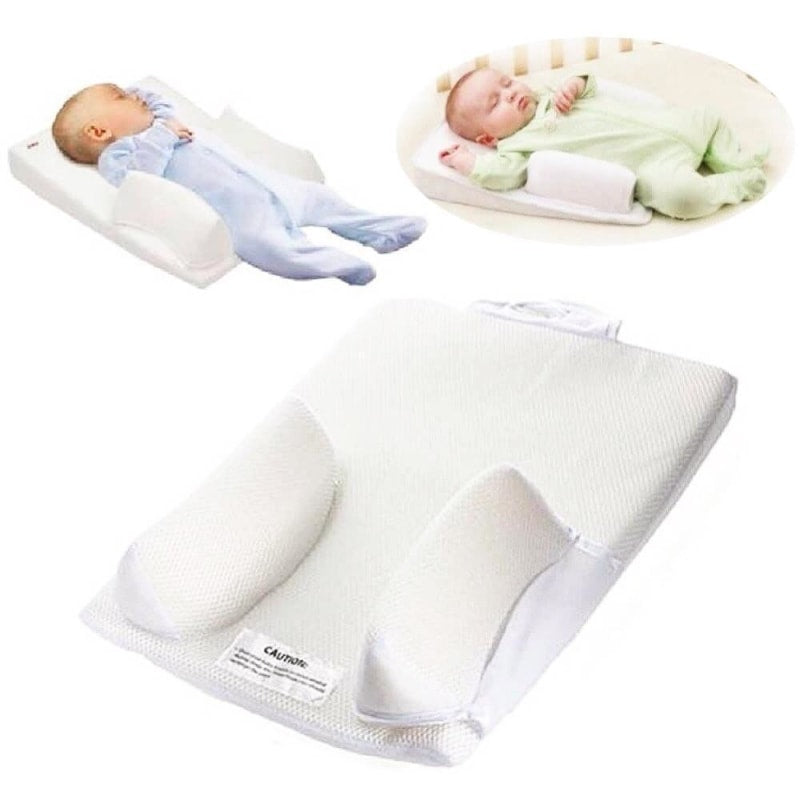 Infant Sleep System Prevent Flat Head Ultimate Vent Fixed Positioner Baby Pillow - Dilutee.com