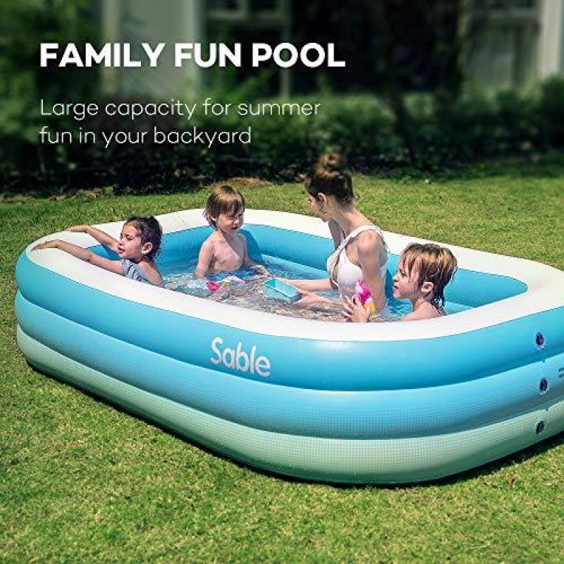 Inflatable Pool For Kids And Family - dilutee.com